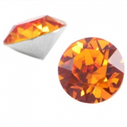 Swarovski Elements SS29 puntsteen (6.2mm) Tangerine orange