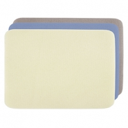 Beadalon kralen mat 23x30cm 3-pack Yellow, Blue, Beige