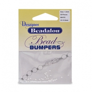 Beadalon kralen bumpers 1.5mm White