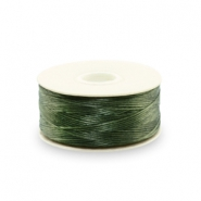 Beadalon Nymo wire 0.3mm Olive Green