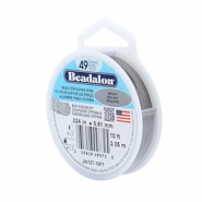 Beadalon Rijgdraad 49 draads 0.61mm Bright Stainless Steel