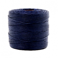 Nylon S-Lon draad 0.6mm Dark navy blue