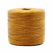Nylon S-Lon draad 0.6mm Golden brown