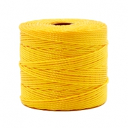 Nylon S-Lon draad 0.6mm Sunflower yellow