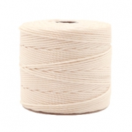 Nylon S-Lon draad 0.6mm Light beige