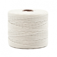 Nylon S-Lon draad 0.6mm Off white