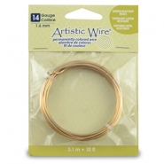 14 Gauge Artistic Wire Tarnish resistant brass