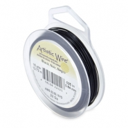 22 Gauge Artistic Wire Black