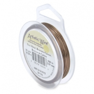 24 Gauge Artistic Wire Antique brass