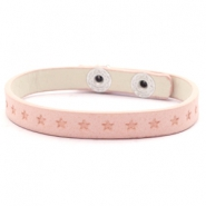 Trendy armbanden stars Light blush pink