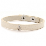 Trendy armbanden stud anchor Off white