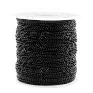 Trendy koord metalstyle wire 0.5mm Black
