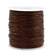 Trendy koord metalstyle wire 0.5mm Copper brown