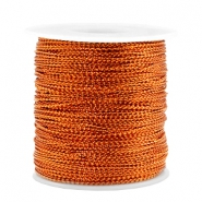 Trendy koord metalstyle wire 0.5mm Rosegold