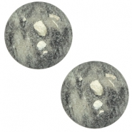 20 mm classic cabochon Polaris Elements Rockstar Greenish grey