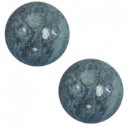 20 mm classic cabochon Polaris Elements Rockstar Stargazer blue