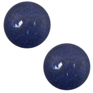 12 mm classic cabochon Polaris Elements Rockstar Dark navy blue