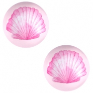 Cabochon basic 12mm Shell-pink