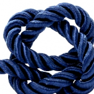 Trendy koord weave 10mm Dark blue