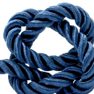 Trendy koord weave 10mm Royal blue