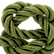 Trendy koord weave 10mm Olive green