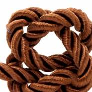 Trendy koord weave 6mm Light chocolate brown