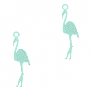 Hangers bohemian flamingo Fresh mint green
