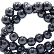 8 mm glaskralen full colour Black pearl coating