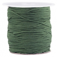 Macramé draad 1.0mm Fairway green