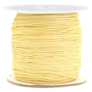 Macramé draad 0.7mm Old linen yellow