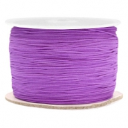 Macramé draad 0.5mm Soft grape purple