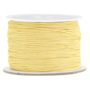 Macramé draad 0.5mm Old linen yellow