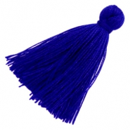 Kwastjes basic 3cm Royal blue