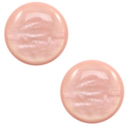 7 mm classic cabochon Polaris Elements Parelmoer Vintage rose
