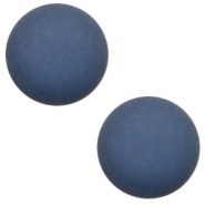 12 mm classic cabochon Polaris Elements matt Radiant blue