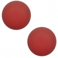 12 mm classic cabochon Polaris Elements matt Warm red