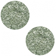 20 mm platte cabochon Polaris Elements Goldstein Chinois green grey