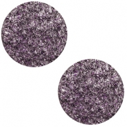 12 mm platte cabochon Polaris Elements Goldstein Grape purple
