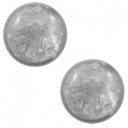 20 mm classic cabochon Polaris Elements Lively Light grey