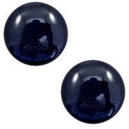7 mm classic cabochon Polaris Elements Lively Intense dark blue