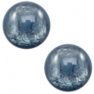 12 mm classic cabochon Polaris Elements Lively Quantum blue