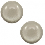 20 mm classic cabochon Polaris Elements soft tone shiny Warm grey