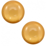 12 mm classic cabochon Polaris Elements soft tone shiny Camel brown