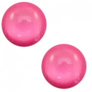 12 mm classic cabochon Polaris Elements soft tone shiny Magenta pink