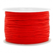 Macramé draad 1.0mm Candy red