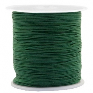 Macramé draad 0.5mm Atlantic deep green