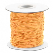 Gekleurd elastisch draad 0.8mm Sunflower orange