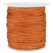 Macramé draad 1.0mm Honey brown