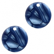Resin hangers rond 12mm Dark blue