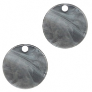 Resin hangers rond 12mm Grey